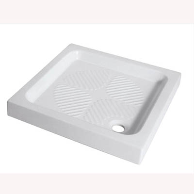 Square showere tray