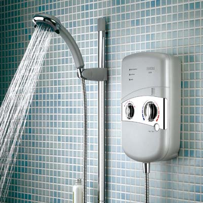 Bristan electric shower with handset