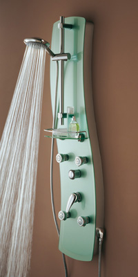 Bristan thermostatic shower panel